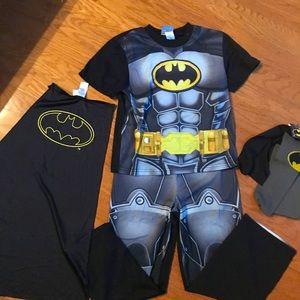 Batman PJ set, with cape & matching socks